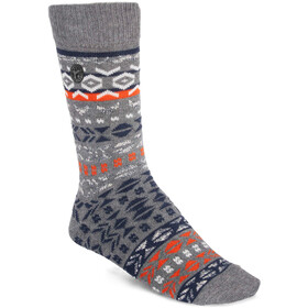 Birkenstock Cotton Jacquard Socken Herren gray melange
